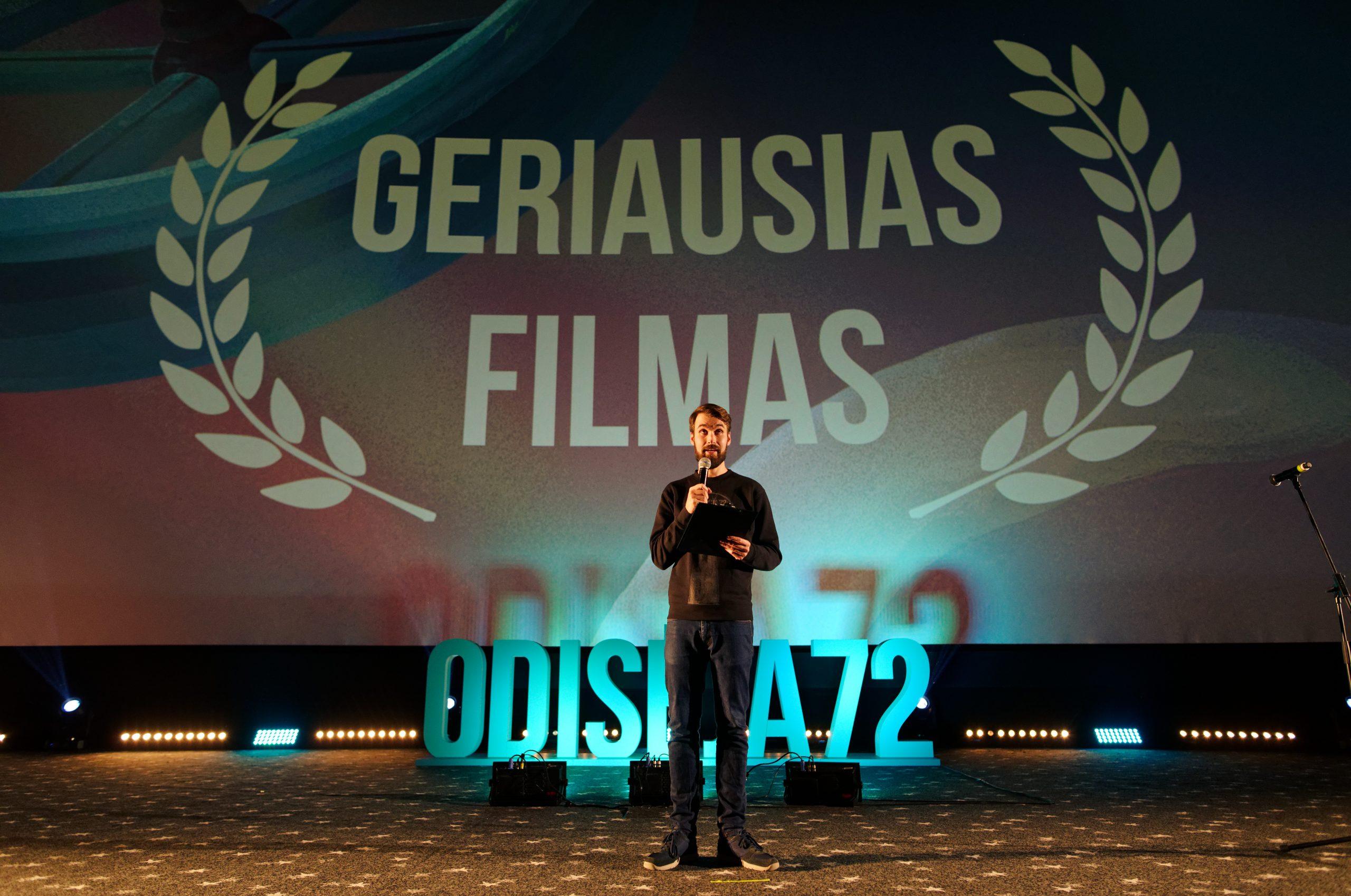ODISĖJA72 finalas: apdovanoti geriausi per tris paras sukurti filmai