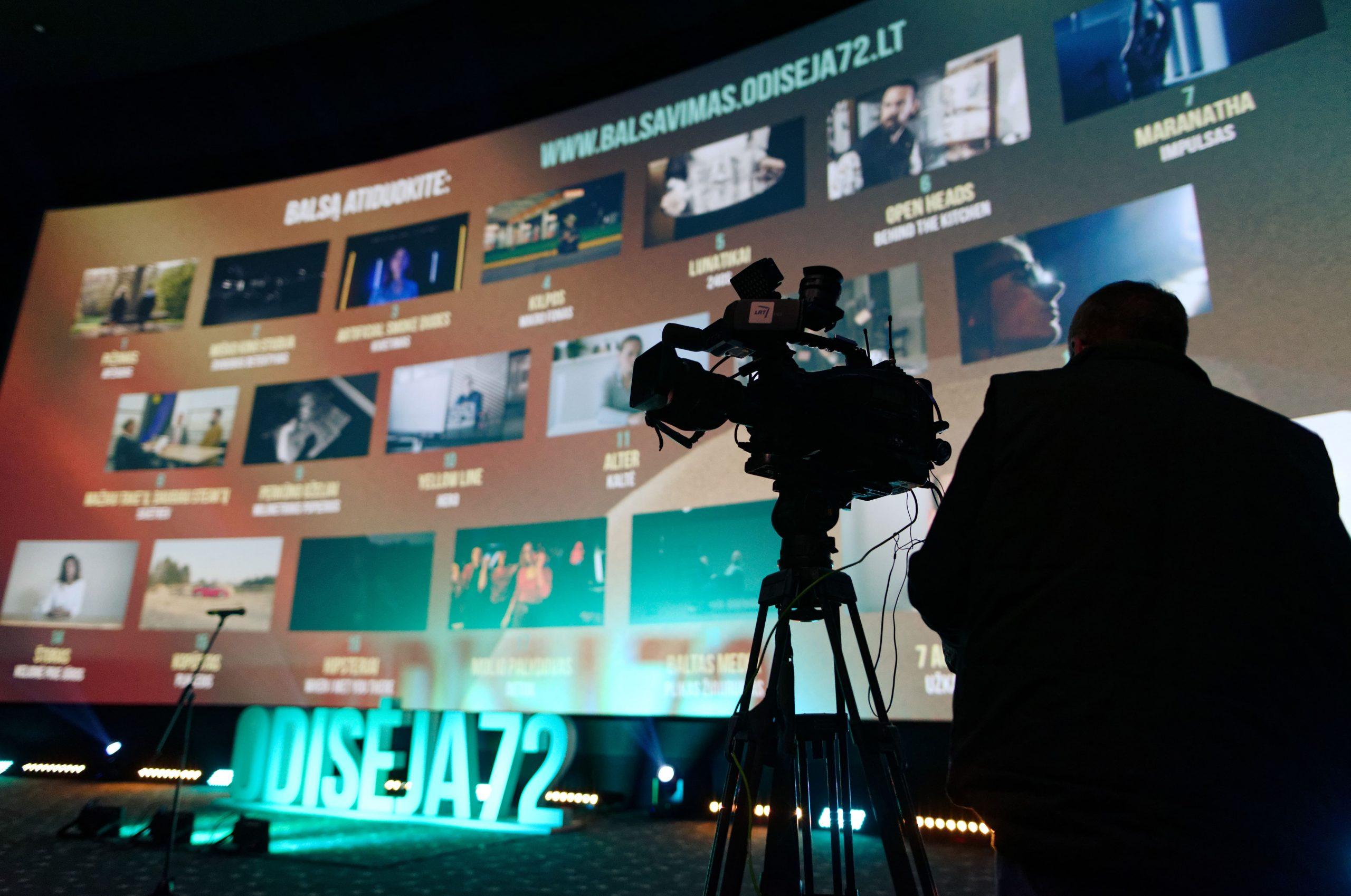 Filmų kūrimo festivalis ODISĖJA72 kviečia dalyvauti 2021 metų renginiuose